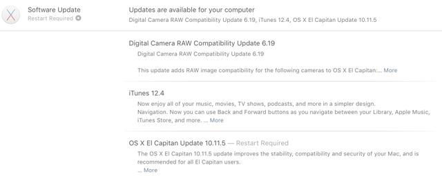 OS X 10.11.5