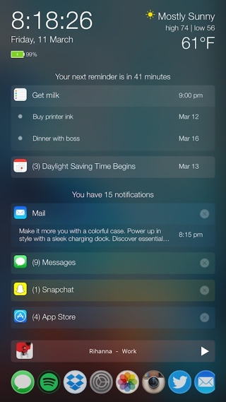 PersonalAssistant tweak