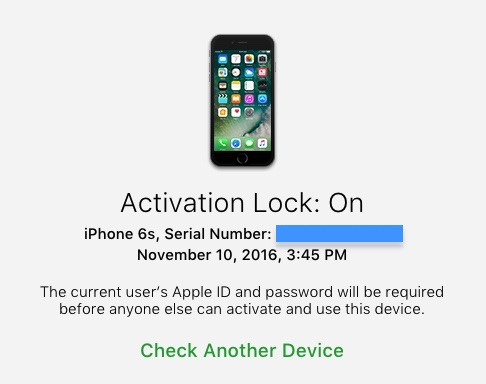 activation lock iphone how to check activation lock on iphone or ipod touch 4432