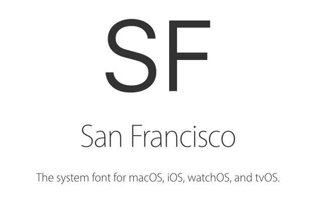 Download San Francisco Font