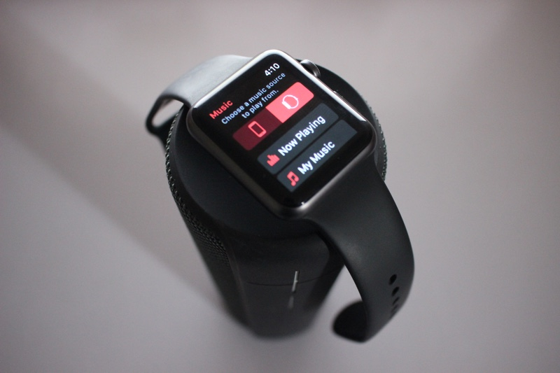 Sync songs apple watch