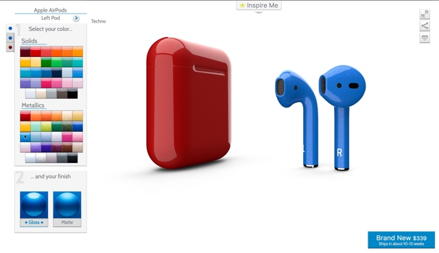 You Can Now Buy Custom Colored Airpods From Colorware