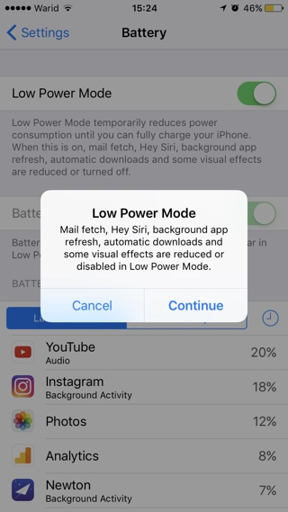 Increase Battery Life Of iPhone