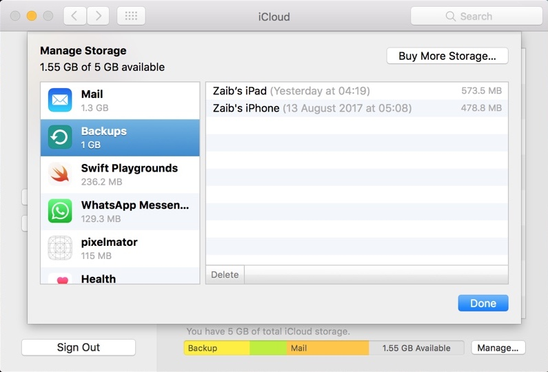 How to backup photos on icloud from mac