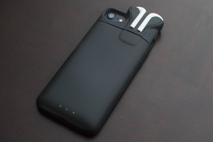 Iphone Case With Airpods Holder