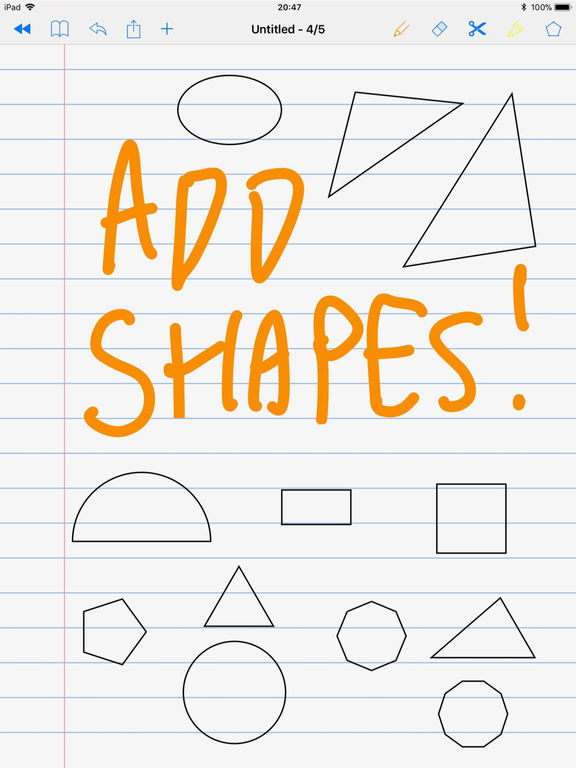 SchoolNotes for Apple Pencil 2
