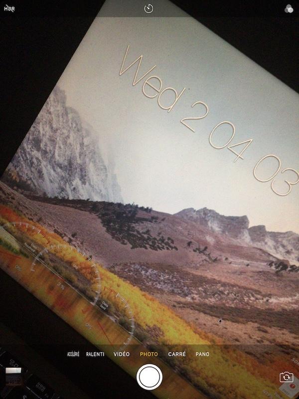 iPhone Cam for iPad tweak