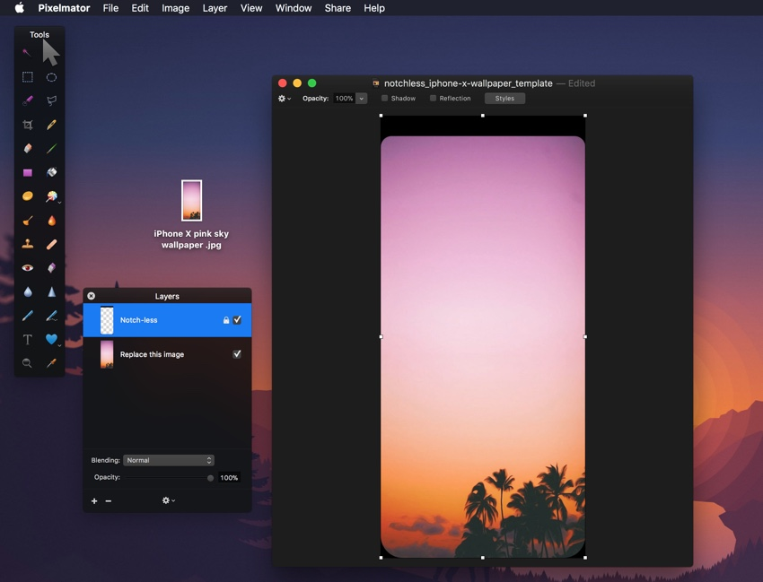 How to create notch less iphone x wallpaper in photoshop or 1 first of all download this iphone x notchless templated file this is the file you will be editing to create notch less wallpaper for your iphone x maxwellsz