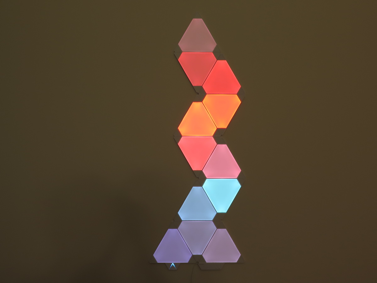 rhythm module transforms your nanoleaf light panels into a light