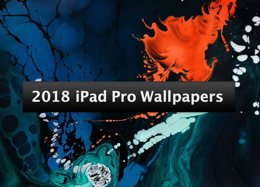 Download 8 2018 Ipad Pro Wallpapers From Apple S Marketing Material