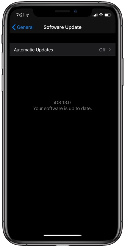 Solve Searching network on iPhone