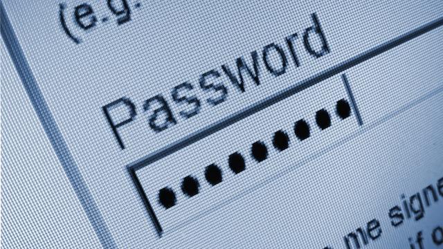 IPhone үшін пароль.