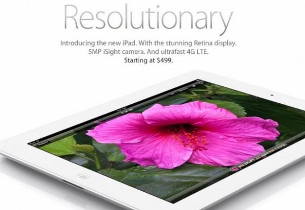 3 millones de iPad vendidos, de su 3ª generación