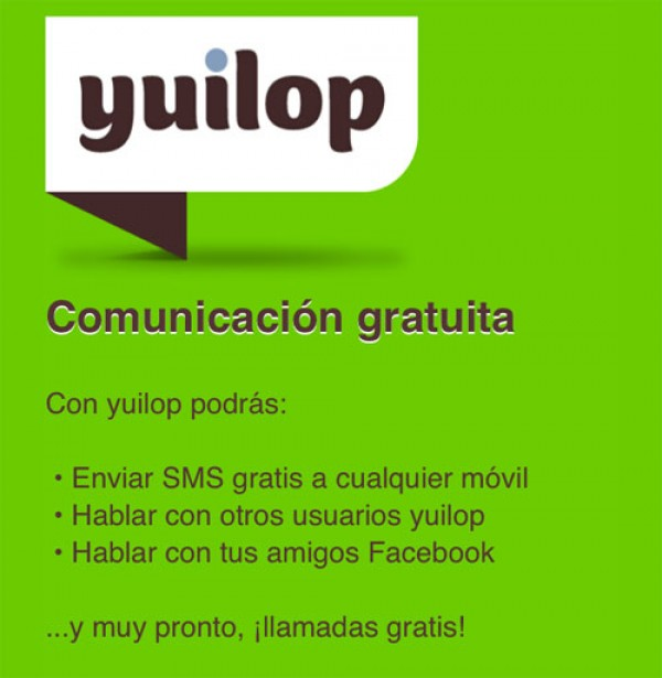Yuilop, una alternativa a WhatsApp, incluye enviar SMS's gratis