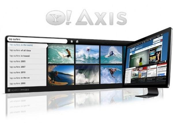 Axis, el navegador con el que Yahoo! quiere salir a flote