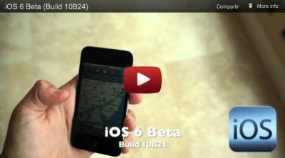 Filtrado posible video de iOS 6
