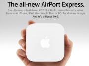 Nuevo AirPort Express por 99$