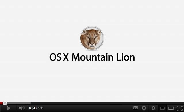 Vídeo: Novedades de Mountain Lion