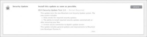 Mountain Lion se actualiza con importantes mejoras de seguridad