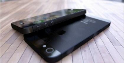 Supuesto iPhone 5 color negro