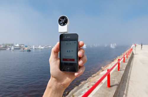 Convierte tu iPhone en un anemómetro