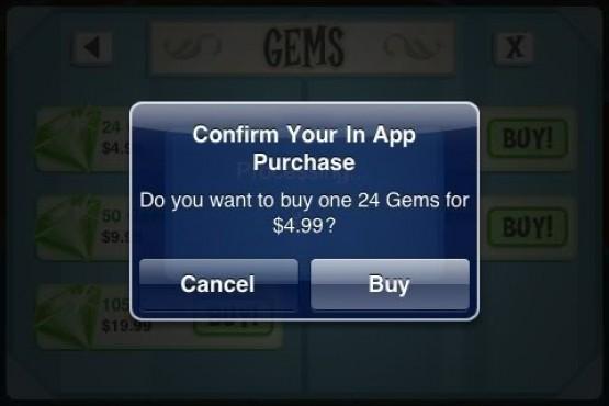 Apple in-app