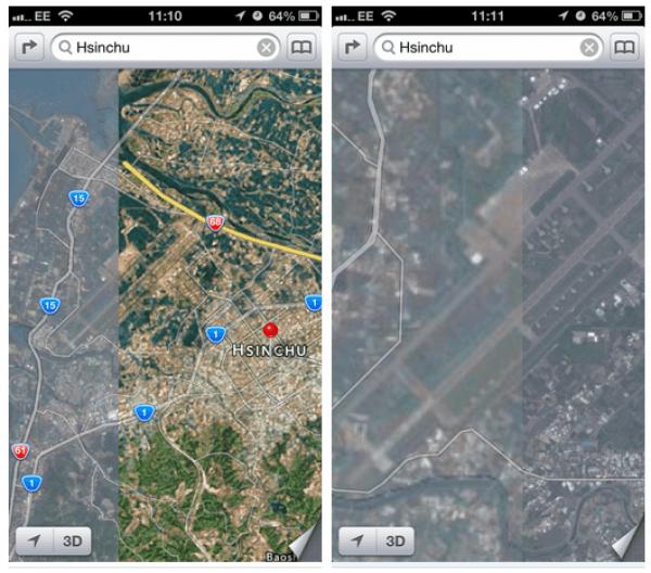 mapas-de-apple-taiwan-zona-militar
