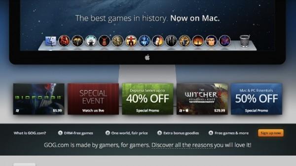 gog.com juegos para plataforma OS X