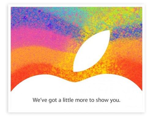Invitación para ¿iPad mini?
