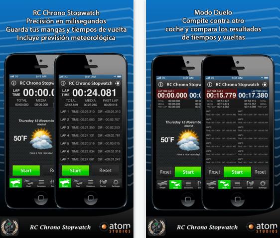 RC Chrono Stopwatch