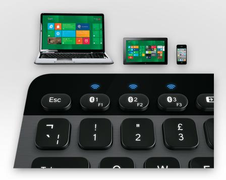 Logitech teclado imac