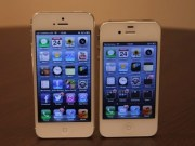 iPhone 5 contra iPhone 4