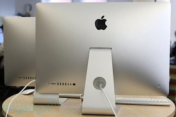 nuevo iMac 2012 toma de corriente