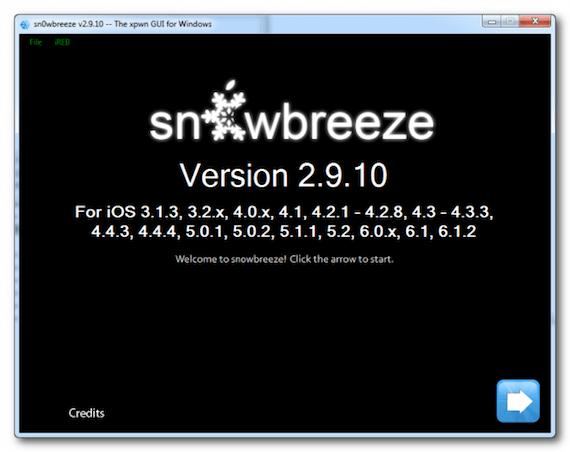 Sn0wbreeze-windows