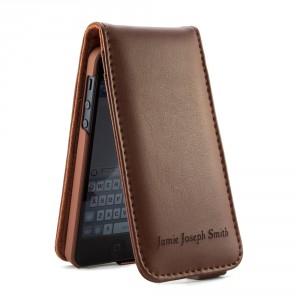 iphone5-personalised-flip-brown-£49.95-low-res-300x300