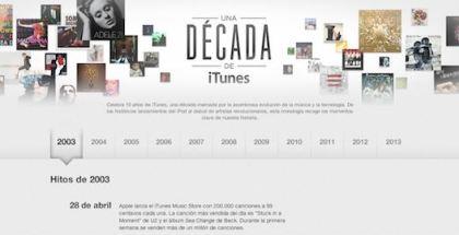 10 años de itunes