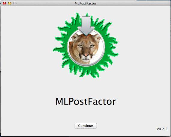 MLPostFactor
