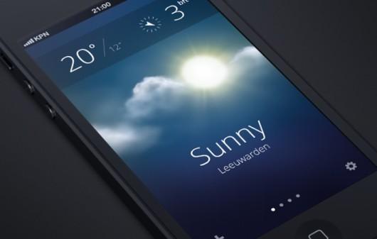 nueva interfaz de iOS 7
