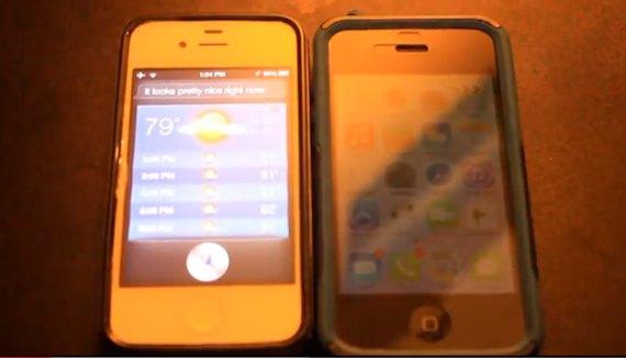 Siri iOS 6 vs iOS 7