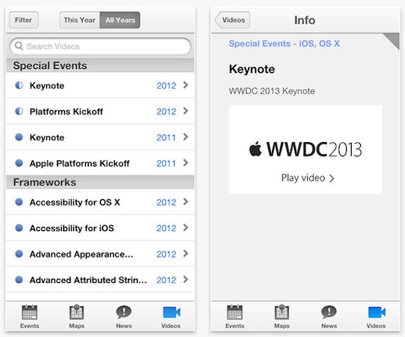 app WWDC 2013