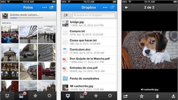 dropbox se actualiza a la versión 2.3