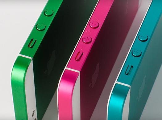 iphone 5s en diferentes colores