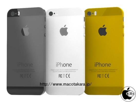 El iPhone 5S estará disponible en negro, blanco y oro