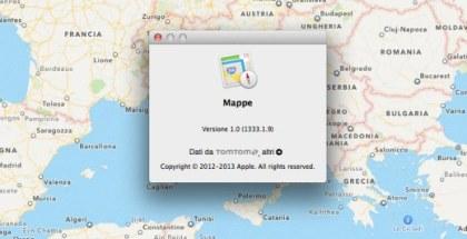 Mapas en OS X 10.9