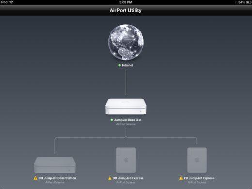 Utilidad AirPort 6.3