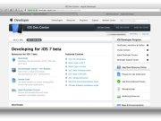 portal de desarrolladores de Apple