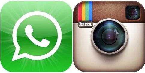WhatsApp e Instagram