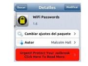 contraseñas WiFi guardadas en tu dispositivo iOS