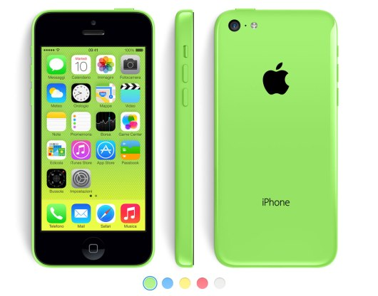 el iPhone 5c