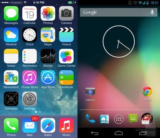 iOS-7-vs-Android-4.3-1-530x455